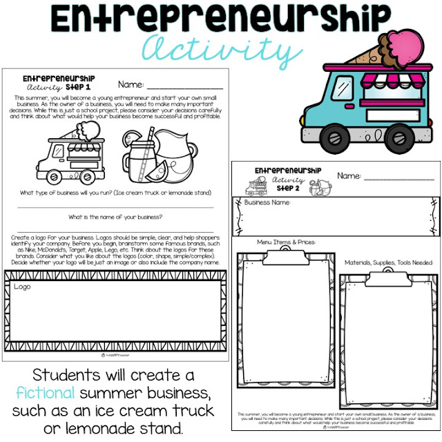 Introduction to business ideas for kids