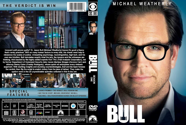 Bull Season 1 DVD Cover