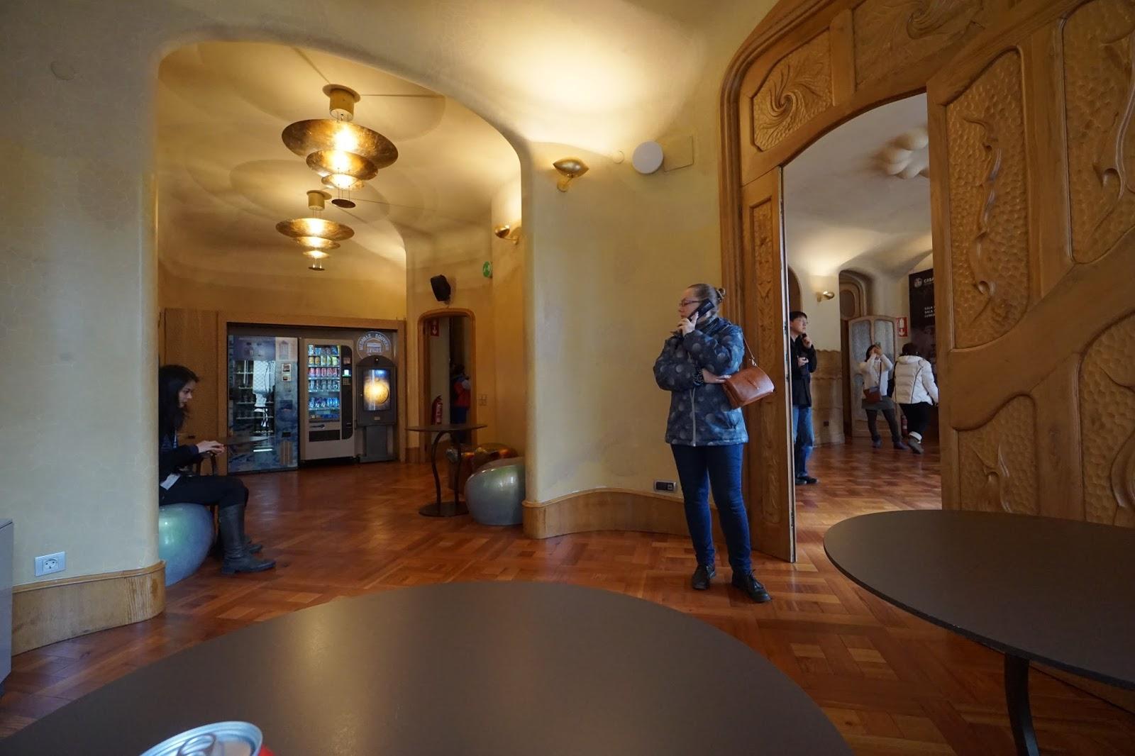 カサ・バトリョ(Casa Batlló) 休憩スペース