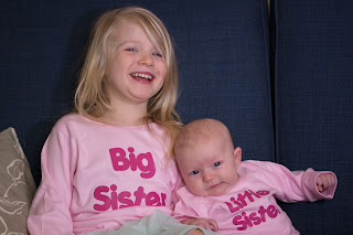 Sisters in Big sister, Little sister t-shirts