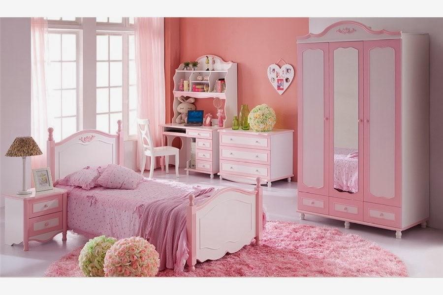 Cuartos de ni a en rosa dormitorios colores y estilos - Habitaciones pequenas para ninas ...