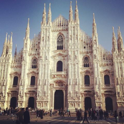 Duomo de Milão - blog ItaliAna