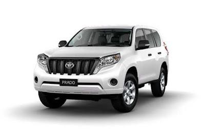 Toyota Land Cruiser Prado front picture