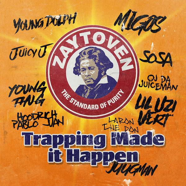 Zaytoven - Five Guys (feat. Migos & Young Thug) - Single Cover