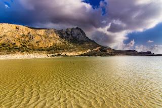 Acantilados y Playa de Balos, Isla de Creta, Grecia