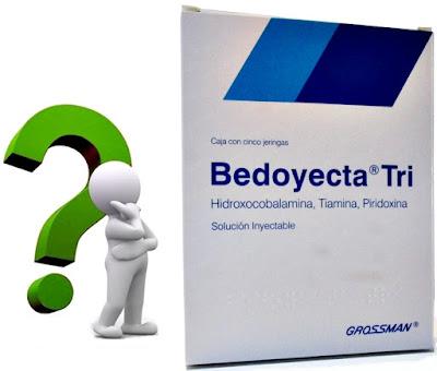 Inyectar bedoyecta a veces es bueno para estimular la recuperación muscular