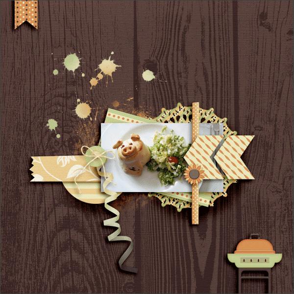 porky © sylvia • sro 2015 • designs by romajo • fabfall: corn picking