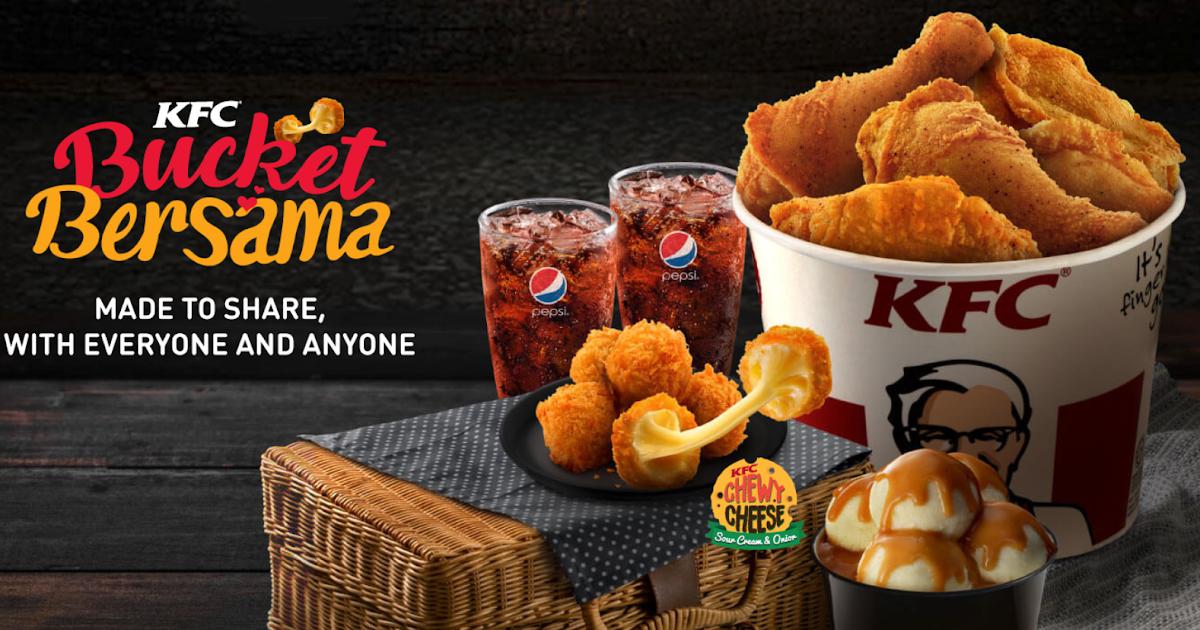 Harga KFC Bucket Bersama - Senarai Harga Makanan di Malaysia