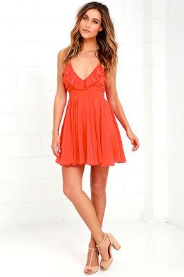 Vestidos rojos de moda