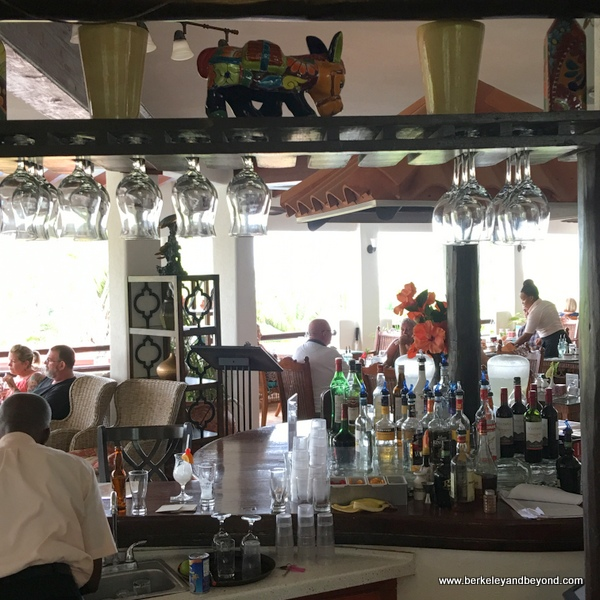 bar at Sugar Cane Club in St. Peter, Barbados