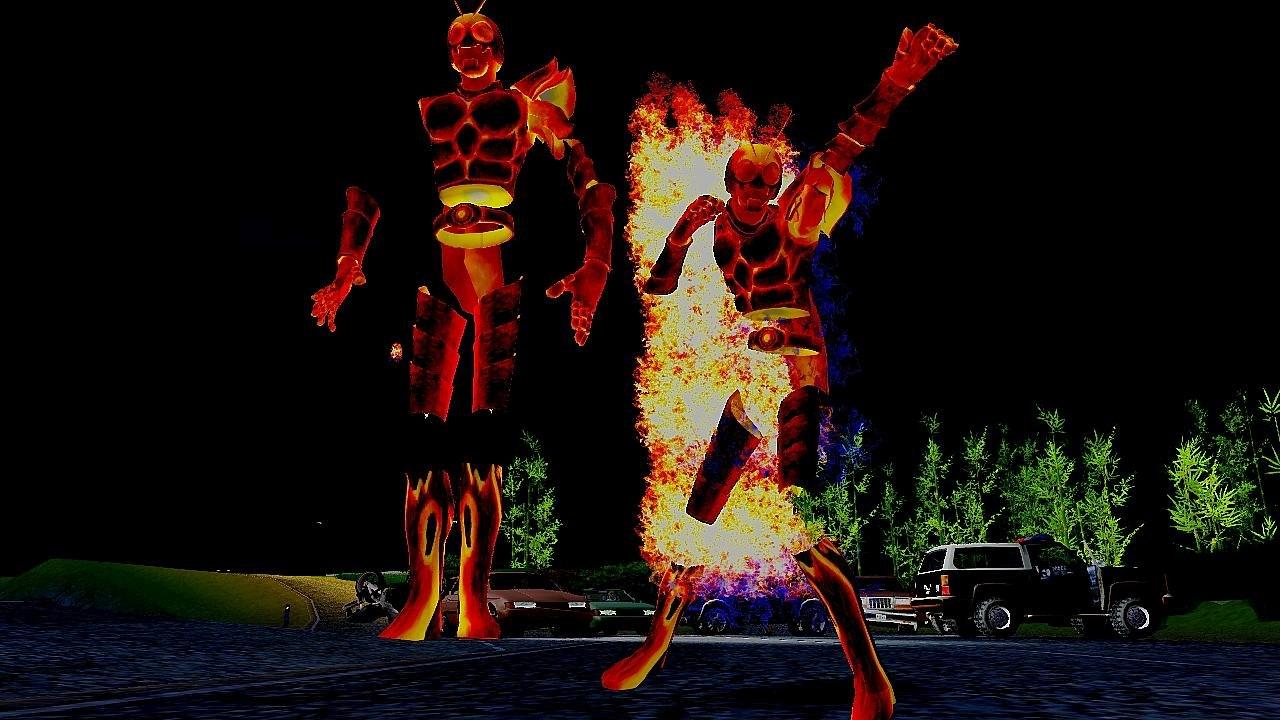 GTA Kamen Rider Core