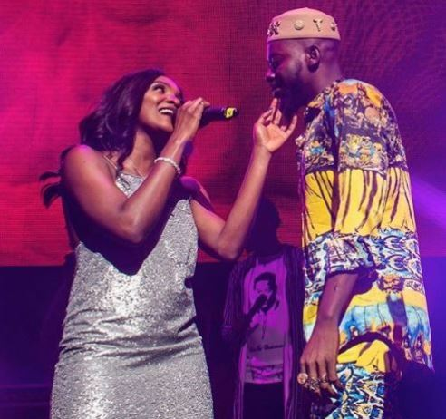 News In Pictures: Adekunle And Simi Share Intimate Moment On Stage At His Concert In London