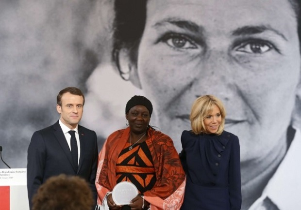 Le 1er prix Simone-Veil remis à la camerounaise Aissa Doumara Ngatansou