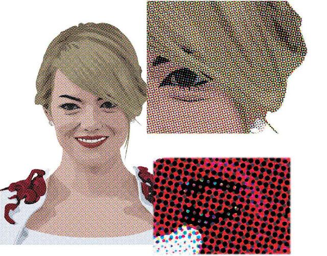 Membuat foto menjadi seperti komik dengan teknik halftone dot menggunakan photoshop