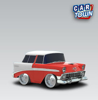 Chevrolet Nomad 1956 Fire