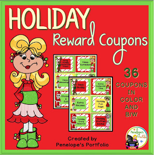https://www.teacherspayteachers.com/Product/Holiday-Reward-Coupons-2162330