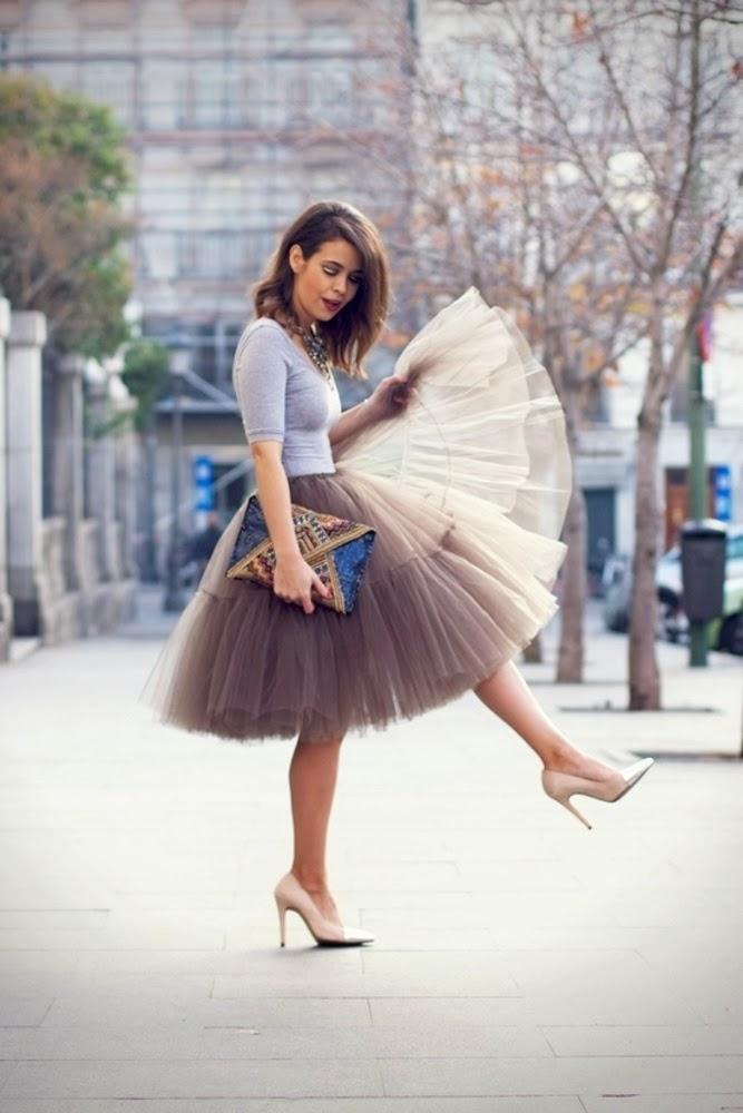 Social Wardrobe: Ballerina Skirt Trend
