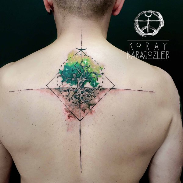 12 Unique Watercolor Tattoo Designs For Women & Men