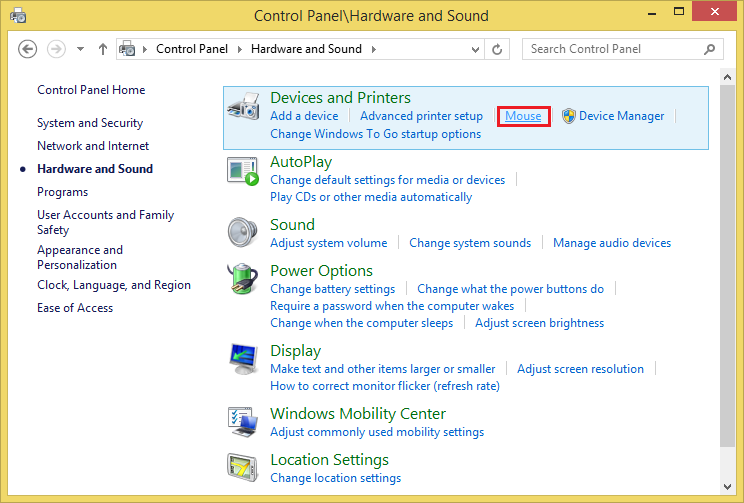 8a87aa38de2 General Computers: Turn Off Mouse Pointer Trail On Windows 8.1