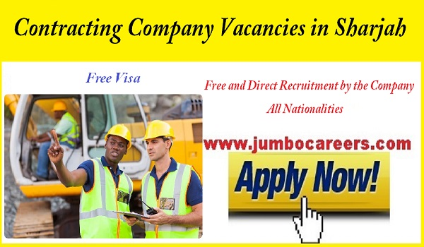 Urgent company jobs in Sharjah, New job openings in Sharjah,