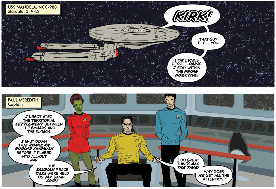 Boldly Gone by Kevin Church and Ming Doyle