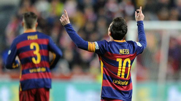 Messi ya acumula 490 goles oficiales en su carrera