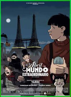 Abril y el Mundo Extraordinario (2015) | DVDRip Latino HD GDrive 1 Link