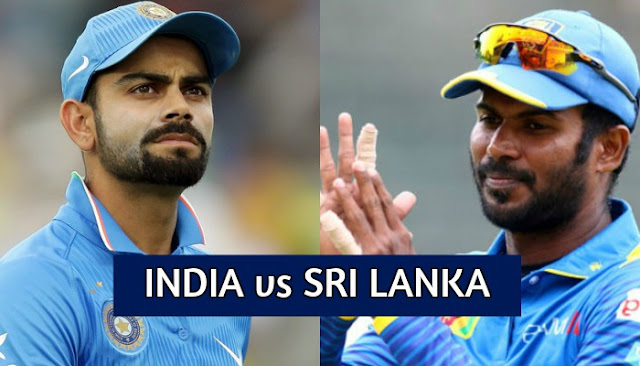 India vs Sri Lanka ODI and T20 Schedule 2017