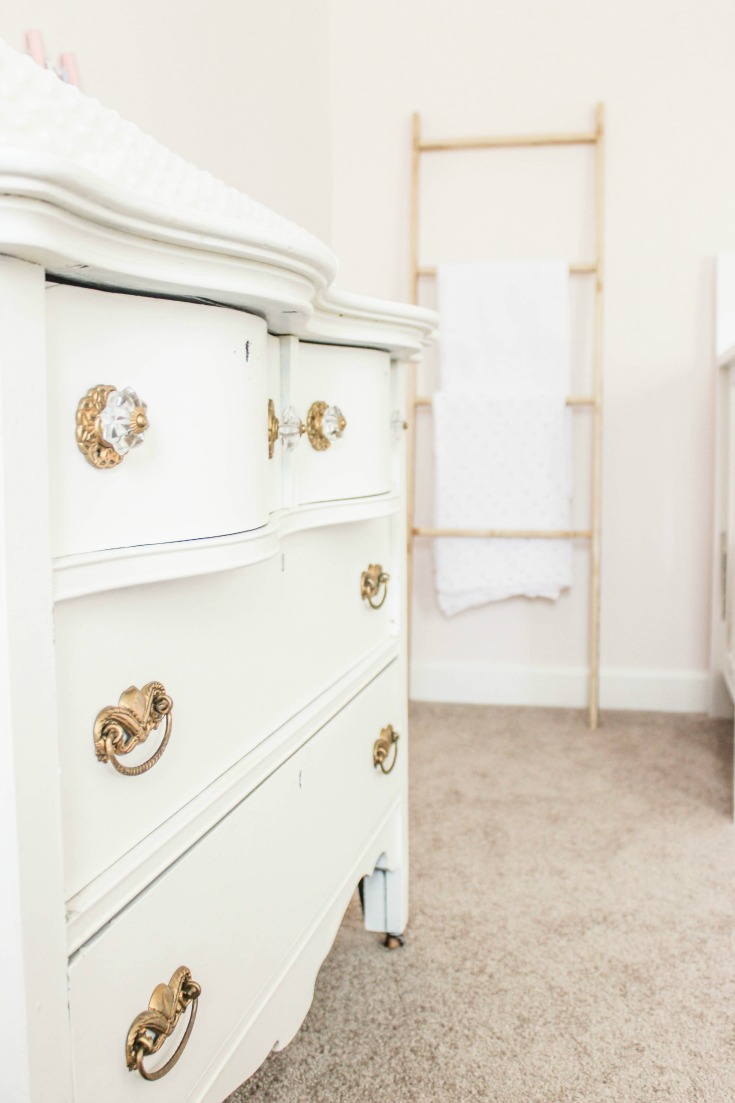 antique dresser changing table