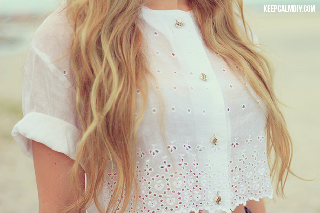 Resultado de imagem para blusa de botão cropped