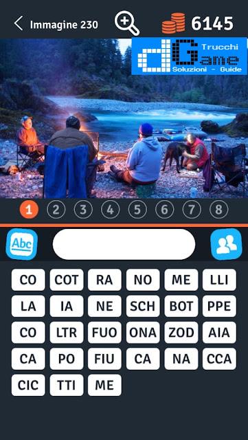 8 Parole Smontate soluzione livello 221-230