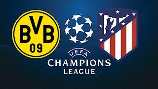 مشاهدة مباراة بروسيا دورتموند و أتلتيكو مدريد بث مباشر اليوم دوري ابطال اوروبا