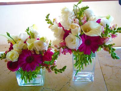 centros de mesa flores hermosas