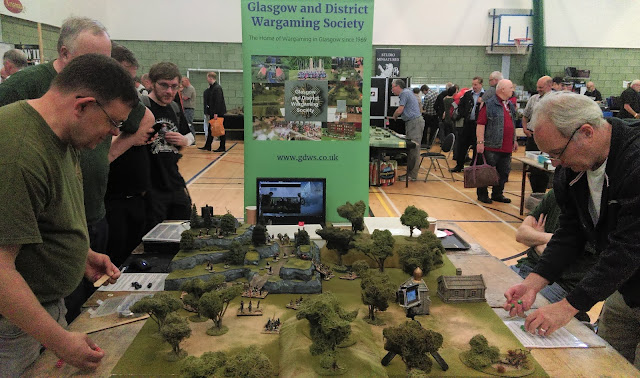 Glasgow and District Wargaming Society public participation game