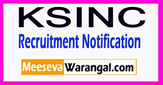 KSINC Kerala Shipping and Inland Navigation Corporation Recruitment Notification 2017 Last Date 03-08-2017