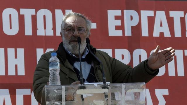 Ο αγροτοσυνδικαλιστής Βαγγέλης Μπούτας καταπλακώθηκε από τρακτέρ