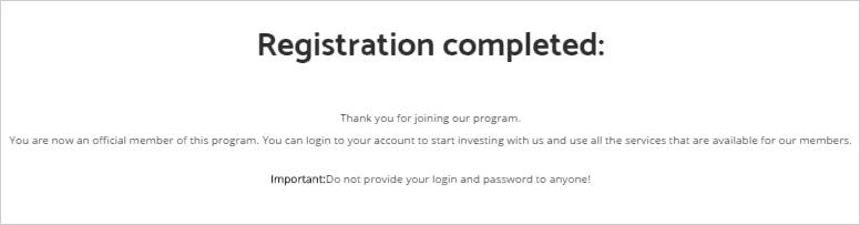 Завершение регистрации RazzletOn