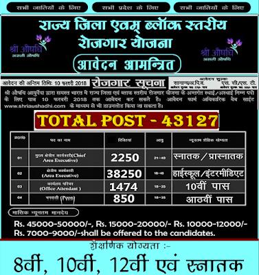 Shri Aushadhi Ayurveda Recruitment 2018