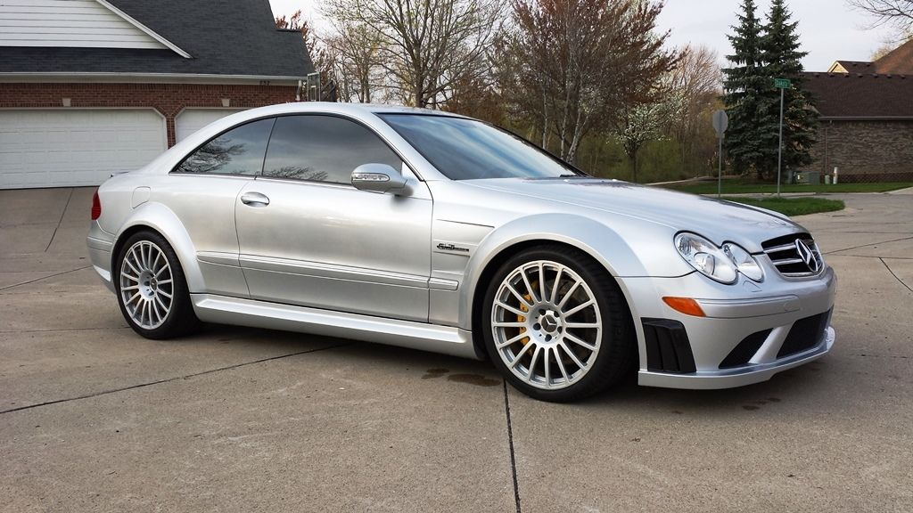 2008 mercedes benz w209 clk 63 amg black series benztuning for Mercedes benz clk black series