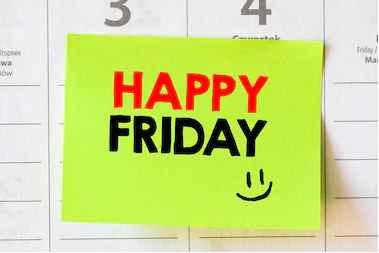 List of Happy Friday