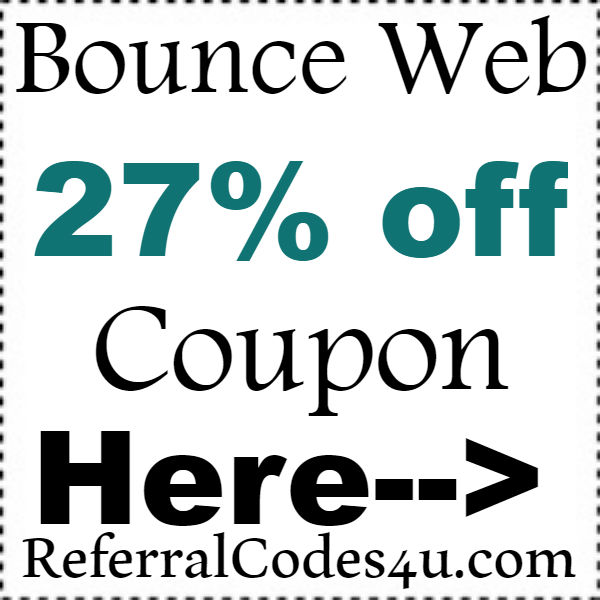 BounceWeb Web Hosting Plan Coupons 2016-2017, Bounce Web Discount Code October, November, December