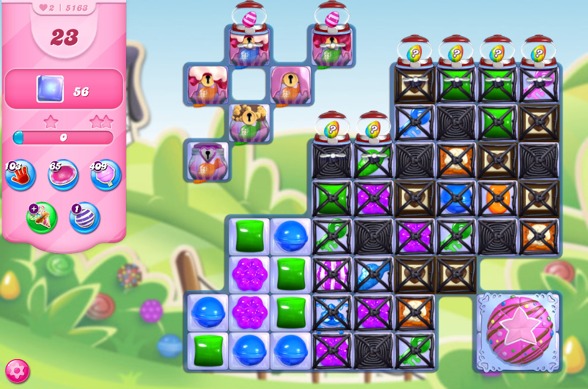 Candy Crush Saga level 5163