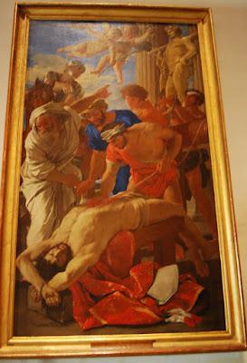 Martyre de Saint Erasme, Nicolas Poussin