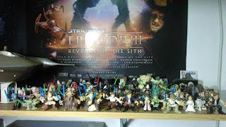 Colección de figuras Star Wars