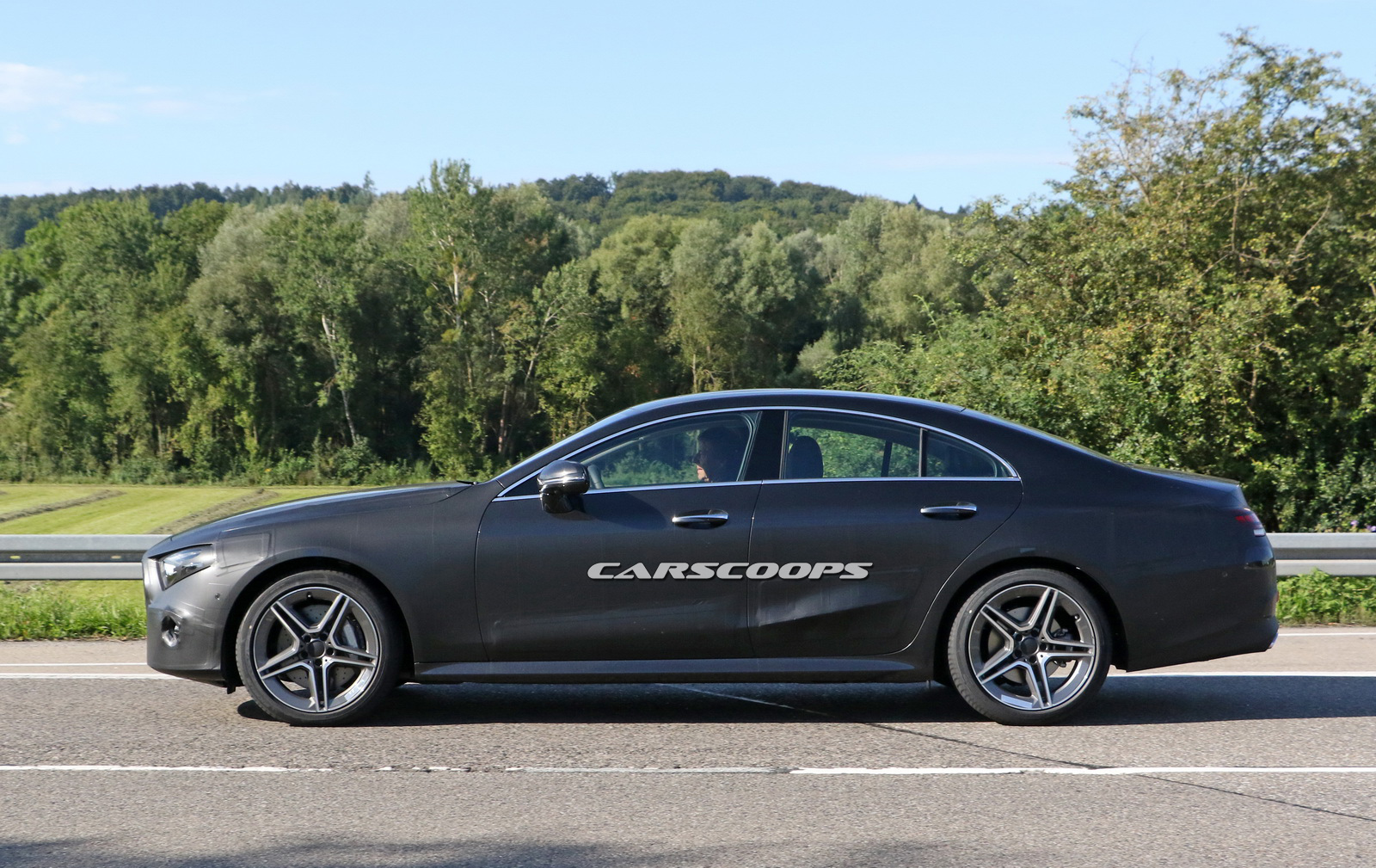 Mercedes benz teases upcoming cls coupe for Mercedes benz small car