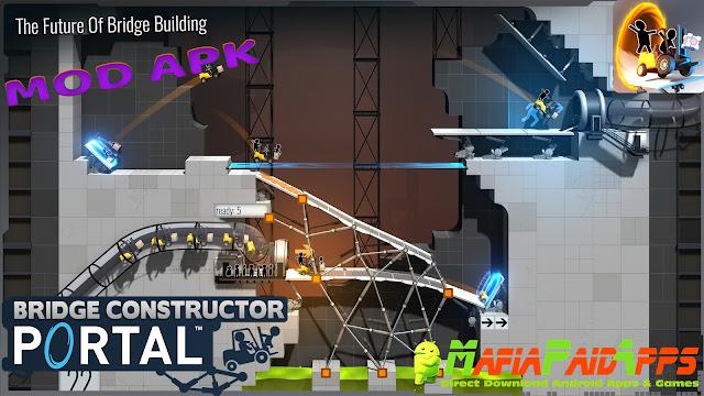 Bridge Constructor Portal Full Apk MafiaPaidApps2