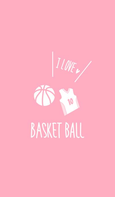 I love basketball.Pink Theme WV