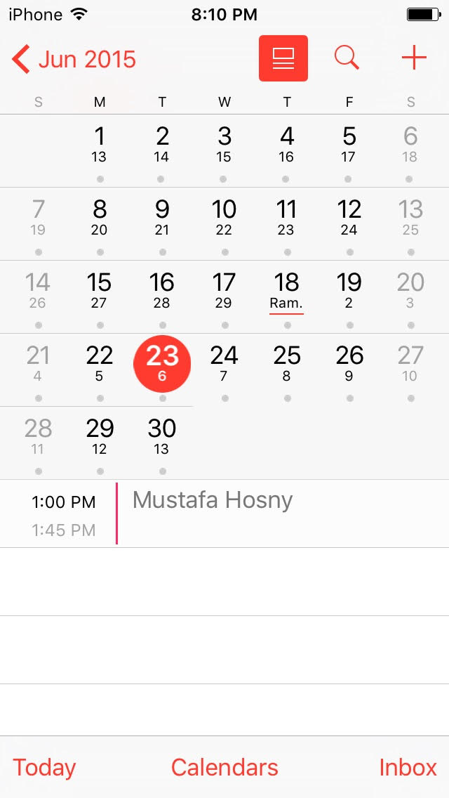 How to enable Islamic calendar in iPhone | Alwaraki Blog