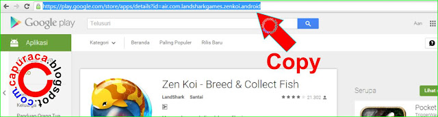 Cara download aplikasi game android via PC tanpa software