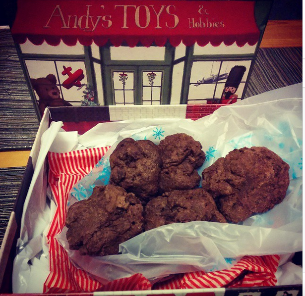 Ancho chilli chocolate cookies